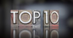 TOP 10 2019 - Romans adultes