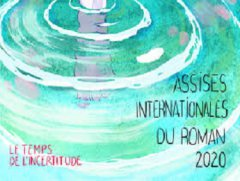 LES ASSISES INTERNATIONALES DU ROMAN 2020